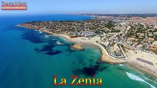 Playas de Orihuela Spain  city photos : 4K видео с воздуха, Испания, пляжи La Zenia, Playa Flamenca, Orihuela Costa, дрон DJI Phantom 3