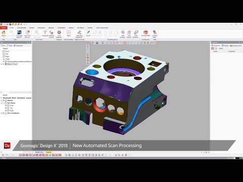 What's new with Geomagic Design X 2019