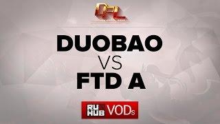 FTD vs DUOBAO, game 1