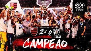Flamengo 2 x 0 Vasco - Bastidores - Mengão campeão carioca!