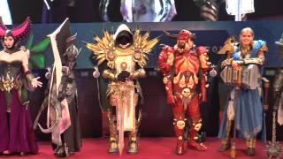 Gamescom 2014 - Blizzard costume contest part III - corpse tree special
