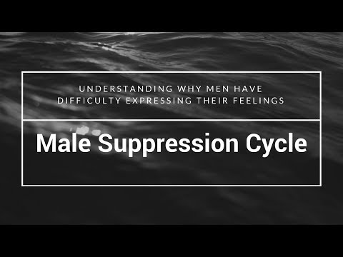 The reason why men don't express their feelings