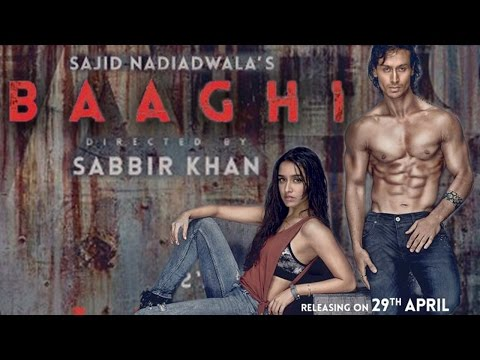 Baaghi: A Rebel for Love Trailer 2016 | Tiger Shroff, Shraddha Kapoor | FIRST LOOK
