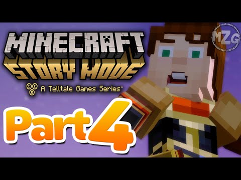 Oh no!! - Minecraft: Story Mode - Episode 5: Part 4 (Let's Play Playthrough)