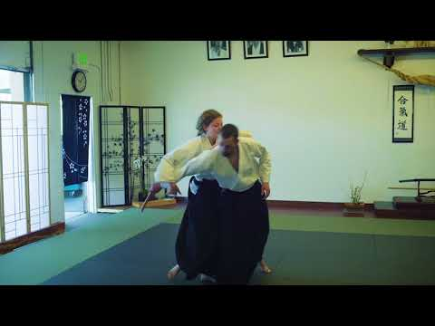 Aikido Practice with Aikido Mountain West in Salt Lake City (видео)