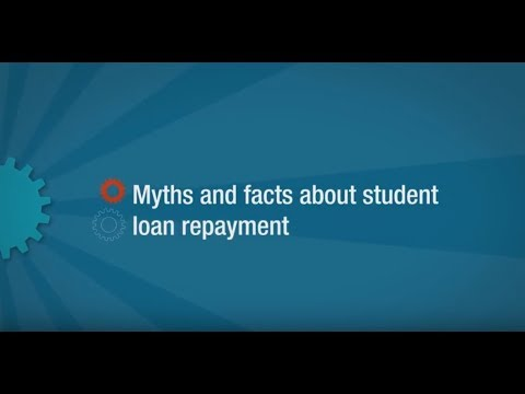 Myths and facts about student loan repayment