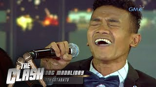 "Video The Clash: Jong Madaliday serenades the audience over with ""You're All I Need"" 