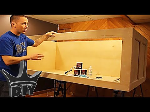 HOW TO: Build a plywood aquarium | Part 1 | Building the tank TUTORIAL