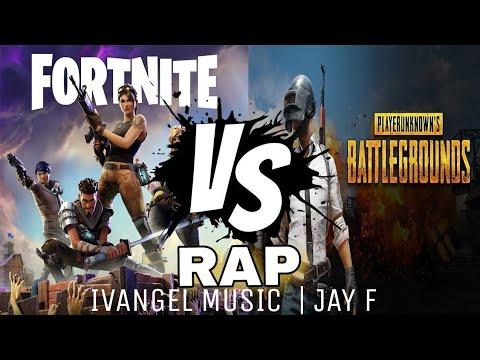 FORNITE VS PUBG RAP - IVANGEL MUSIC | JAY F | VIDEOCLIP OFICIAL