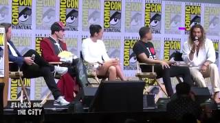 Justice League Star cast Gal Gadot and Jason Momoa at San Diego Comic Con ( SDCC 2017)