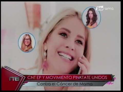CNT EP y Movimiento Pinktate Unidos contra el cáncer de mama