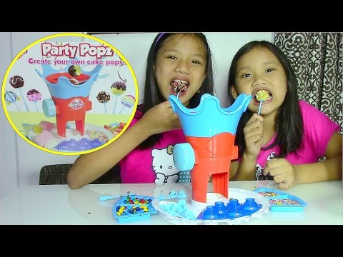 kids - Hi! Here is Young Chef Party Popz - Make Your Own Cake Pops Have fun making your very own Cake Pops with this amazing toy. This Party Popz Playset Includes: ...
