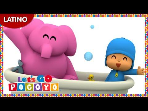 Pocoyo - Pocoyó en latino: El baño de Elly [Episodio 16] en HD
