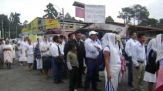 Marcha Por La Paz Quetzaltenango Guatemala