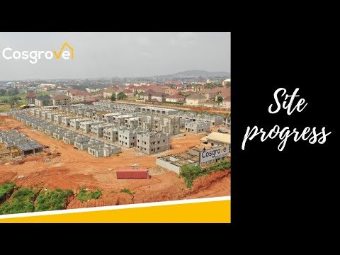 INVEST IN A COSGROVE HOME TODAY! | WUYE SITE PROGRESS