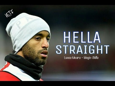 Lucas Moura ▶ Hella Straight • Magic Skills • Fantástic Goals • PSG (видео)
