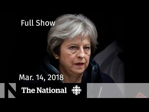 The National for Wednesday March 14, 2018 - U.K.-Russia, School Walkout, Stephen Hawking (видео)