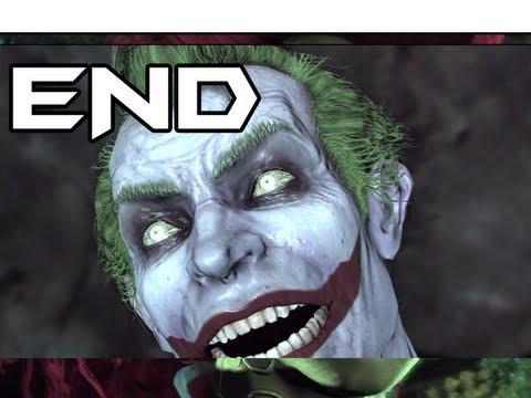 BATMAN Arkham Asylum Gameplay Walkthrough - Part 19 - Joker Titan - The Ending (Let's Play)