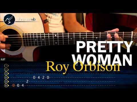 "Cómo Tocar ""Pretty Woman"" De Roy Orbison En Guitarra Acústica (HD) Tutorial - Christianvib"