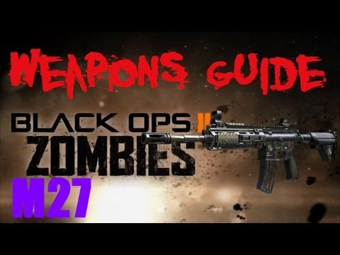 BO2 Zombies M27 / Mystifier Weapons Guide (Nuketown Zombies Exclusive)