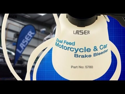 5780 Motorcycle and Car brake bleeder