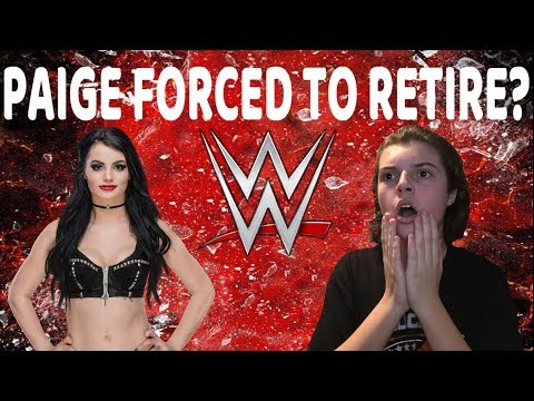 WWE PAIGE FORCED INTO EARLY RETIREMENT!?!?!