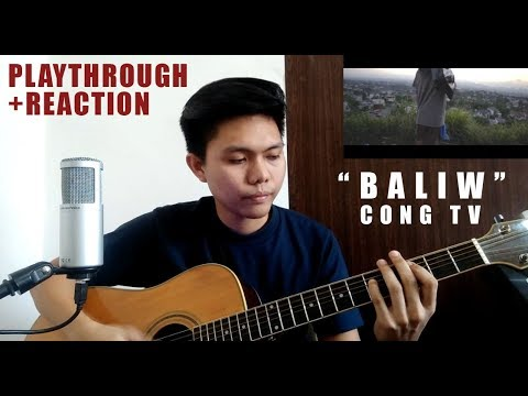 """BALIW"" by Cong TV ( Reaction Video+Playthrough+Fingerstyle) Guitar Cover by Mark Wilson Sagum"