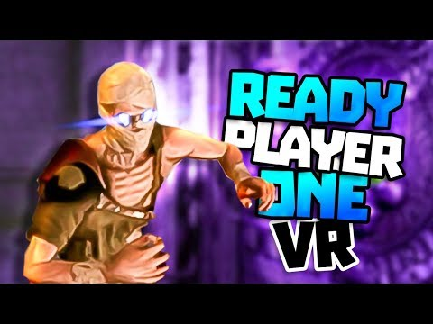 READY PLAYER ONE AMAZING VR DUNGEON GAME! - Ready Player One: OASIS Beta VR Gameplay - Gauntlet
