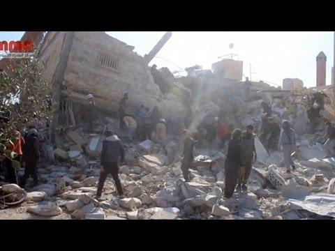 Συρία: Βομβαρδισμοί νοσοκομείων με νεκρούς και τραυματίες
