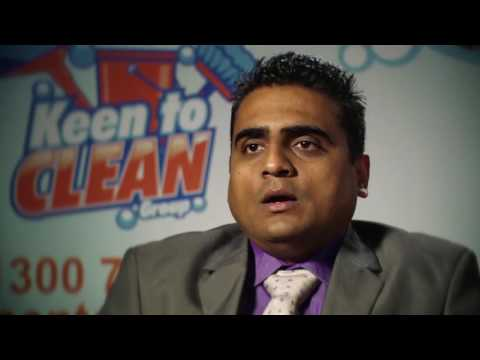 2014 Ethnic Business Awards Finalist – Small Business Category – Brijeshkumar Purohit – Keen To Clean Group