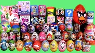 Video Giant 55 SURPRISE EGGS SURPRISE BOXES PlayDoh Frozen MLP Minecraft Cars2 Frozen Mystery Transformers MP3, 3GP, MP4, WEBM, AVI, FLV Februari 2018