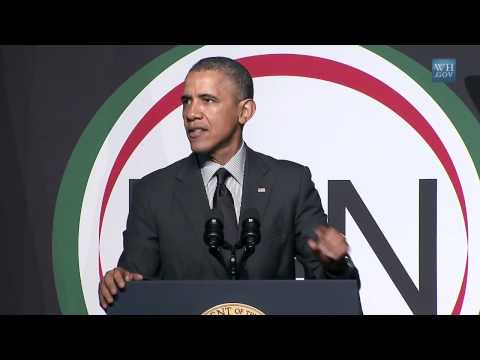 network - President Obama delivers remarks at the National Action Network's 16th Annual Convention. April 11, 2014.
