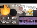 Bts 'not Today' Mv - First Time Reaction German