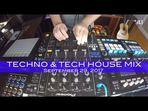 Tech House and Techno Mix Deep Underground House Dance September 29,  2017 60 Minutes