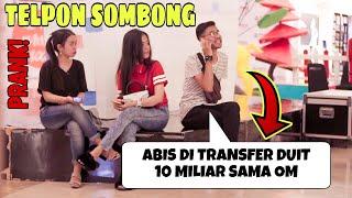Video NGAKAK!! BANCI BERKUMIS TELPONAN SOMBONG DISAMPING ORANG! - Prank Indonesia Jordan Nugraha MP3, 3GP, MP4, WEBM, AVI, FLV Juli 2019