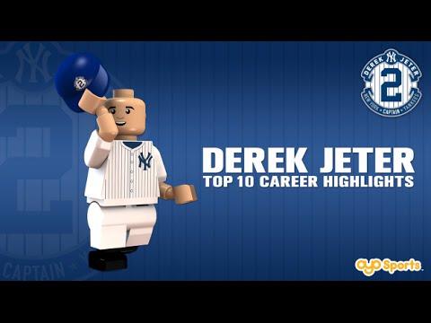 Legos salute Derek Jeter