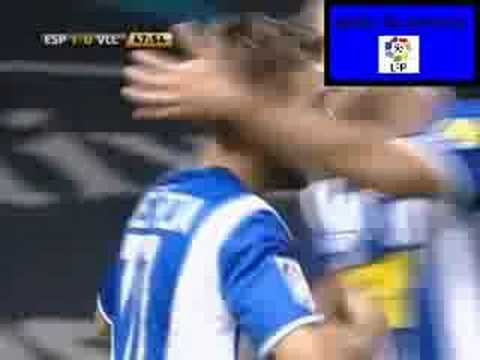 Gol de Luis García al Real Valladolid
