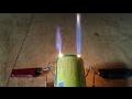Cara Membuat Jet Mini Api Ganda