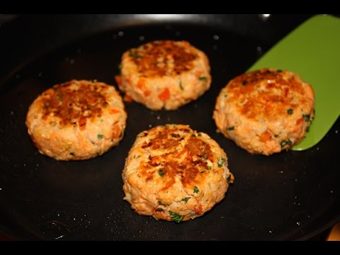 Salmon Patties - Quick & Easy