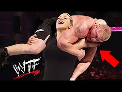 10 MOST INSANE WWE Man VS Woman Matches Ever (видео)
