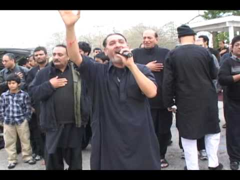 Dar-e-Abbas Zanjeer Zani 10th Moharram 2010 Part 2