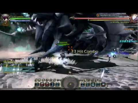 Dragon Nest NA - Apocalypse (Hell) Solo - Lv 40 Acrobat