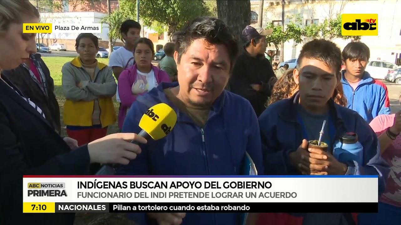 Indigenas buscan apoyo del Gobierno