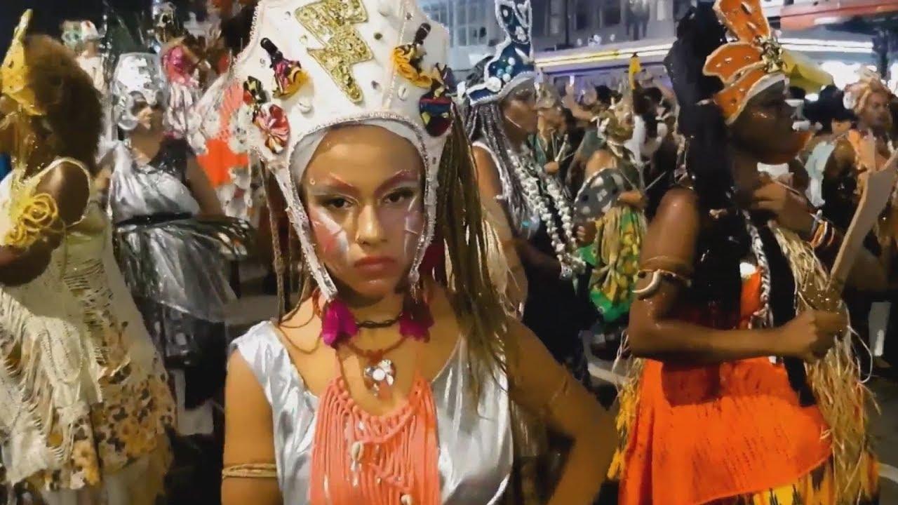 Καρναβαλική παρέλαση στο Σάο Πάολο της Βραζιλίας