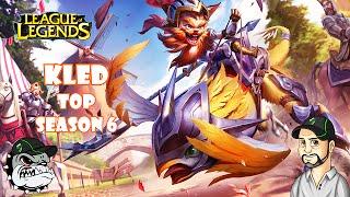 Fala Galera da Net, Ancalado Teclando ;) trago aqui um gameplay do novo campeão, lançado no patch 6.16, Kled no TOP em sua skin