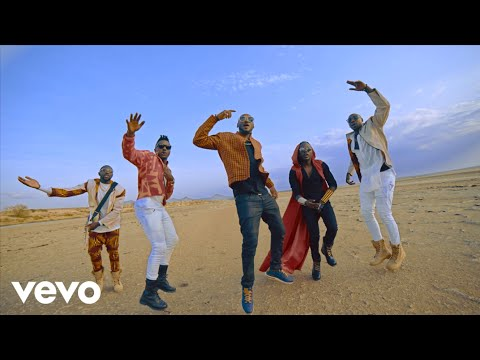 Nigerian 2Baba features Sauti Sol in new inspirational video Oya Come Make We Go