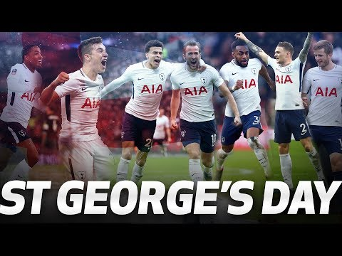 Video: ST GEORGE'S DAY SPURS!