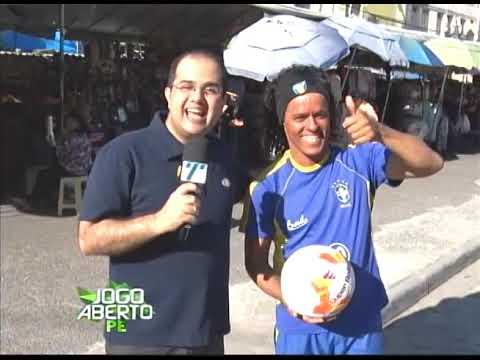[JOGO ABERTO PE] Ronaldinho Gaúcho couver agita as ruas do Recide