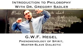Intro To Philosophy, G.W.F. Hegel, Self-Consciousness And Master-Slave Dialectic