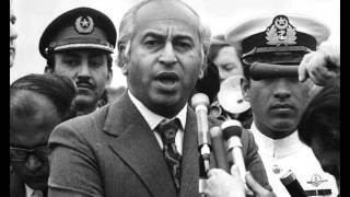 Zulfikar Ali Bhutto speech in Sindhi language in an Open Court held at Shahdadkot (Sindh) regarding the sociopolitical problems of the local citizens.